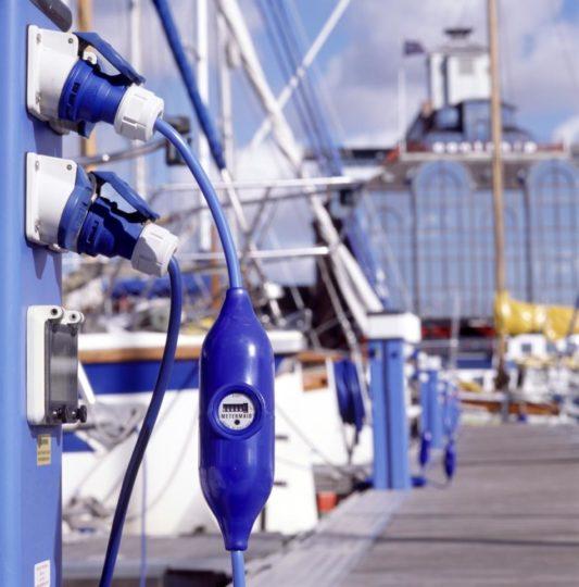 Metermaid elektrische kwh meter presentatie jachthaven
