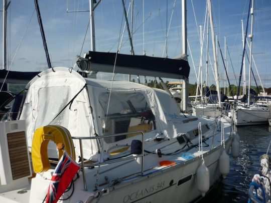 Habitent voor Beneteau zeilboot, Roschmarine